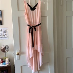 Pink High-Low Lily Rose Dress | Size M